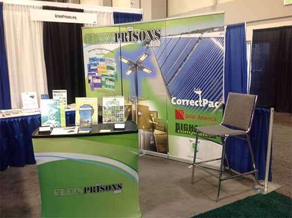 GreenPrisons Exhibit Booth