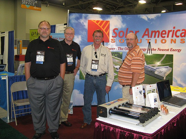 Solar America Solutions at Conference