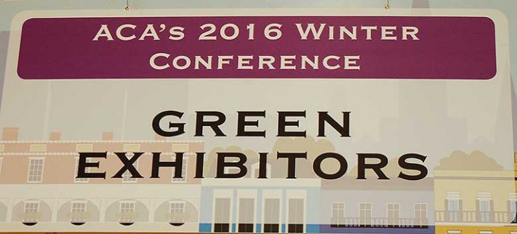 ACA Winter Conference 2016 - Green Exhibitors