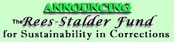 GreenPrisons Announces Rees-Stalder Award on Sustainability