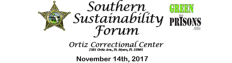 Southern Sustainability Forum November 14, 2017 in Ft. Myers FL